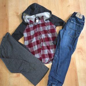 3/$10💈SALE💈 Boys bundle size 7 clothes